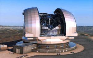 تشييد اكبر تلسكوب في العالم