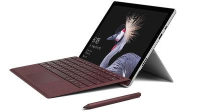 مايكروسوفت تعلن عن حاسبها اللوحي الجديد Surface Pro 2017