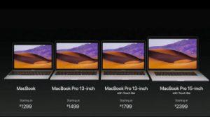 أجهزة MacBook Pro جديدة