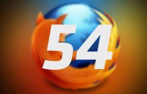 موزيلا تطلق فايرفوكس 54 الجديد