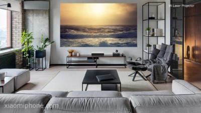 الكشف عن عارض ضوئي منزلي Projector بقدرات سينمائية