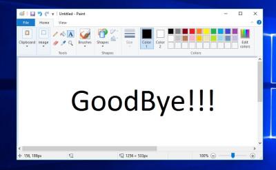 مايكروسوفت تعلن نهاية برنامج الرسام