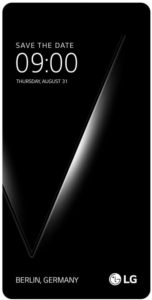 الكشف موعد الإعلان عن هاتف LG V30