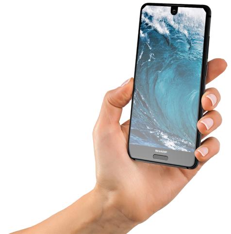 شارب تكشف عن هاتفها الجديد AQUOS S2