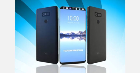 إطلاق الهاتف LG V30 بخاصية التعرف على الوجه