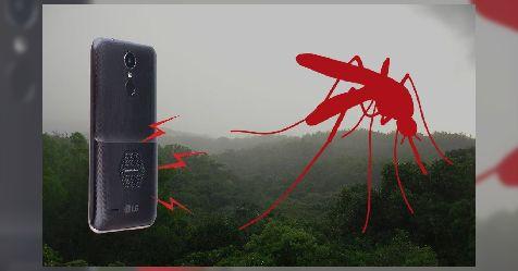 أول هاتف ذكي بتكنولوجيا طاردة للبعوض والحشرات