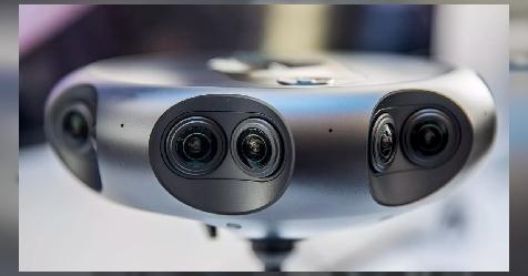 طرح الكاميرا 360 Round لبث الفيديو ثلاثي الأبعاد بتقنية 4K 3D