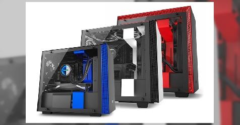 """شركة NZXT تقدم سلسلة صناديق حاسب جديدة باسم """"H"""" بثلاثة نماذج"""