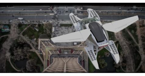 تطوير أول تاكسي طائر مزود بخمسة مقاعد