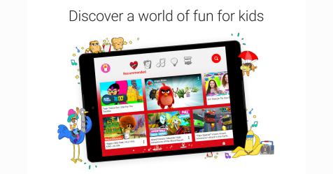 """تحديث جديد لـ """"يوتيوب أطفال"""" يتيح تخصيص الواجهات حسب العمر"""