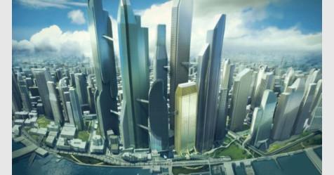مليون دولار من غيتس لبناء مدينة ذكية