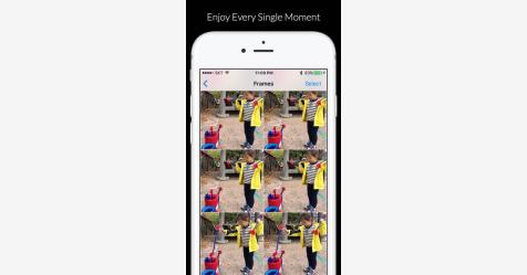 تطبيق لتحويل الصور الحيّة إلى فيديوهات فورية على آيفون