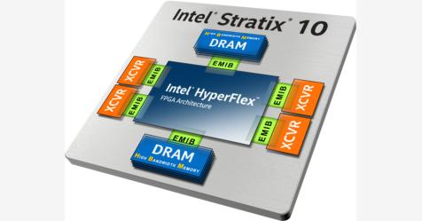 إنتل تطلق Stratix 10 MX FPGA بذاكرة DRAM HBM2 متكاملة