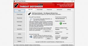2 - برنامج USB Threat Defender