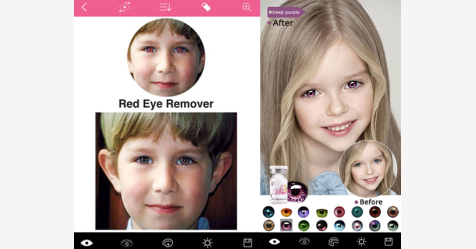 تطبيق Magic Eye Color الرائع لتعديل ألوان العيون وتصحيح مشاكل الصور!