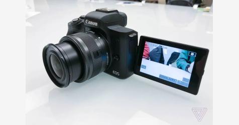كانون تقدم كاميرا M50 بدون مرايا لتصوير الفيديو بدقة 4K