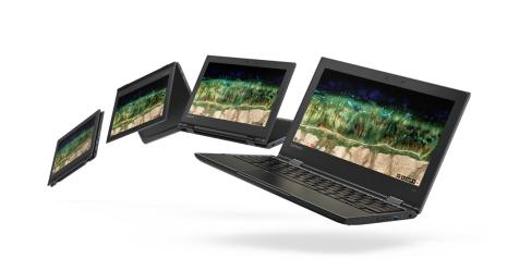 طرح 3 أجهزة Chromebook جديدة مخصصة للمدارس