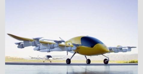 """شركة """"غوغل"""" تقترب من طرح """"طائرة تكسي"""" ذاتية القيادة"""