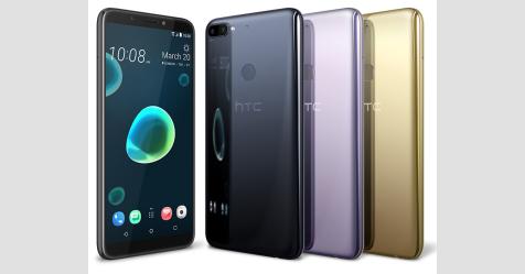 HTC تزيح الستار رسميا عن هاتفين جديدين من الفئة المتوسطة