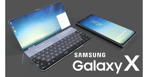 «سامسونغ Galaxy X » الجديد بـ 3 شاشات