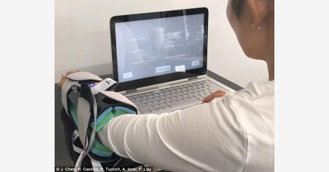 ابتكار جهاز يقرأ الرسائل الإلكترونية عبر الجلد