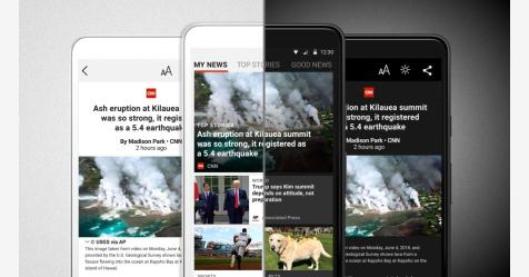 مايكروسوفت تطلق تطبيق إخباري لمستخدمي الهواتف الذكية