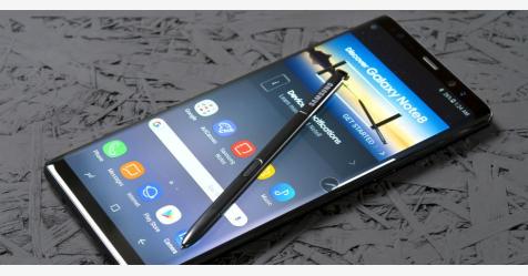 الكشف عن موعد إطلاق هاتف جالكسي Galaxy Note 9