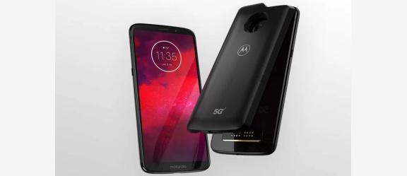 هاتف موتو Z3 وصل رسميا مع شبكات الجيل الخامس