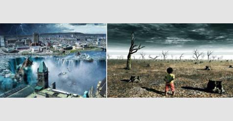 كيف ستنتهي الحياة على كوكب الأرض... نيزك أم فيضان ؟
