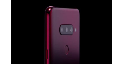 "LG تكشف عن هاتفها ""V40 ThinQ"" بـ 5 كاميرات"