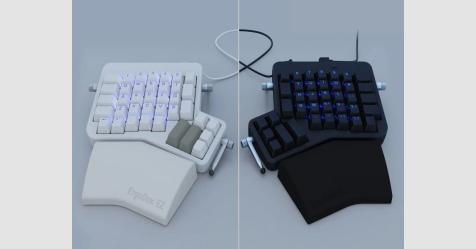 لوحة مفاتيح ErgoDox EZ Glow تقدم لك خيار التعديل عليها بنفسك