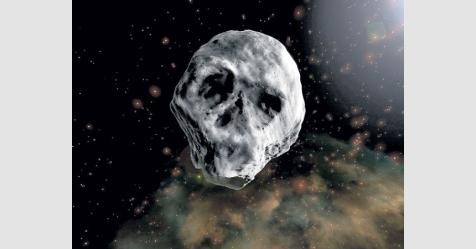 """""""جمجمة الفضاء"""" تزور الأرض الأسبوع القادم"""