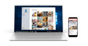 تطبيق Your Phone جديد في نظام Windows 10