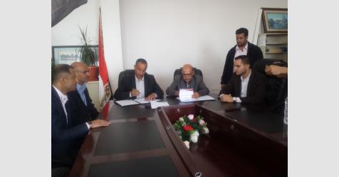 توقيع اتفاقية تدريب بين المعهد العام للاتصالات وهيئة تنظيم النقل البري