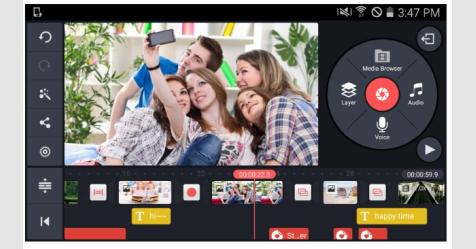 أفضل التطبيقات المجانية لتحرير الفيديو على أندرويد 2019