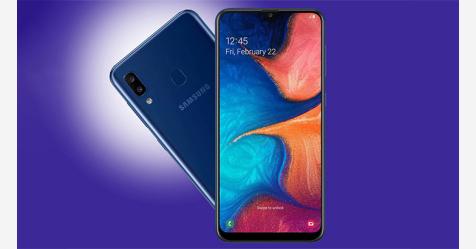 سامسونغ تكشف عن هاتفها الجديد Galaxy A20e